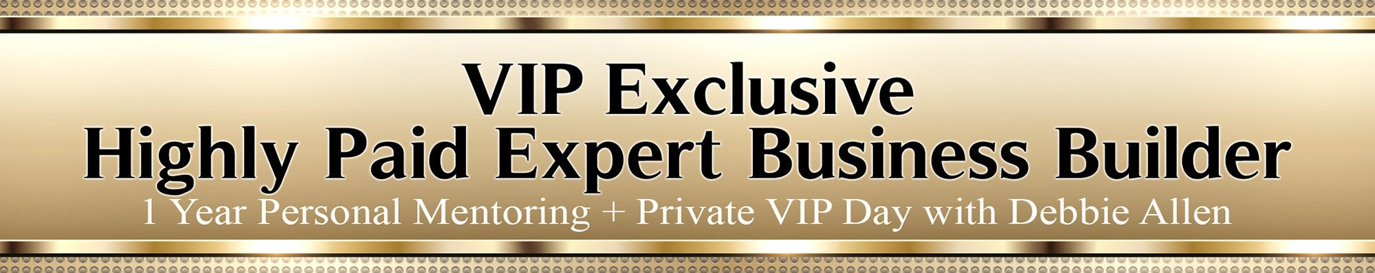 VIP Exclusive Highly Paid Expert Business Builder banner