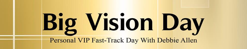 Big Vision Day Mentoring Program banner