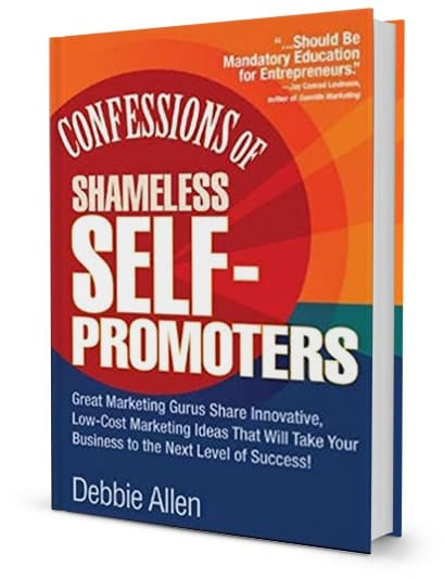 Confessions of Shameless Self-Promoters book cover