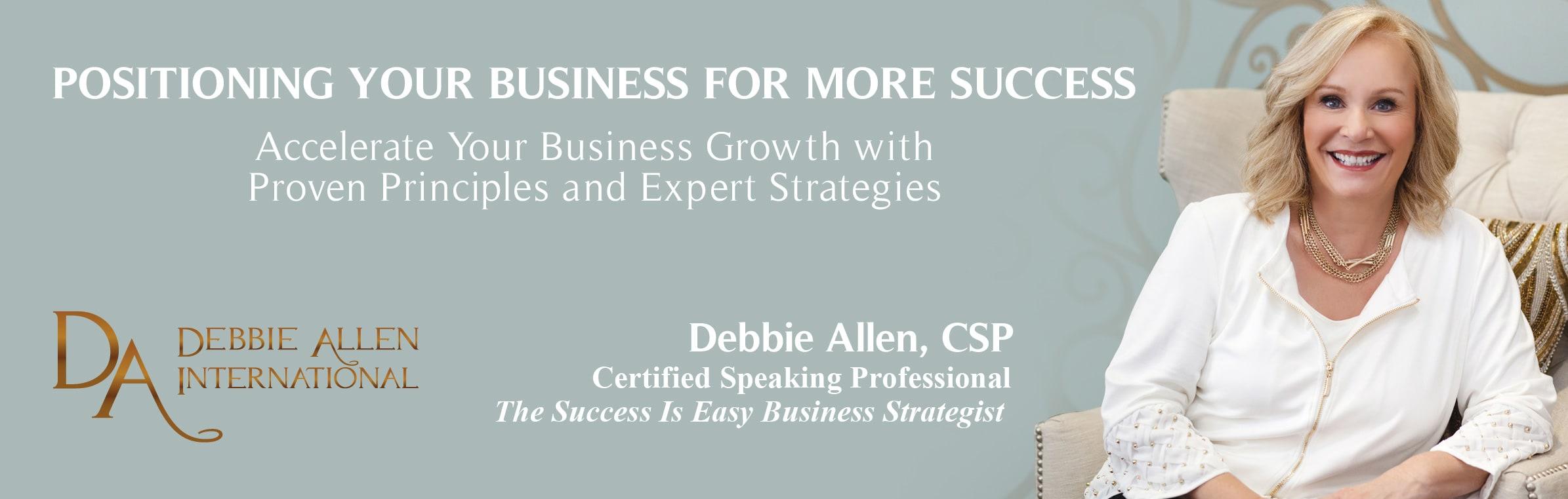 banner for Debbie Allen