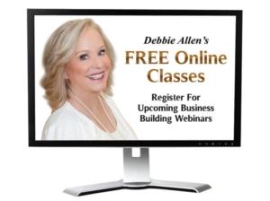 Debbie Allen's Free Online Classes banner