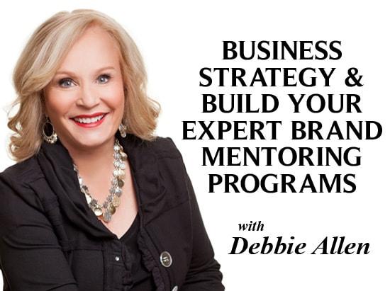 Debbie Allen's Business Strategy Mentoring Programs banner