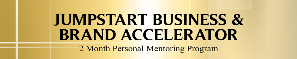Jumpstart Business Brand Accelerator Program banner