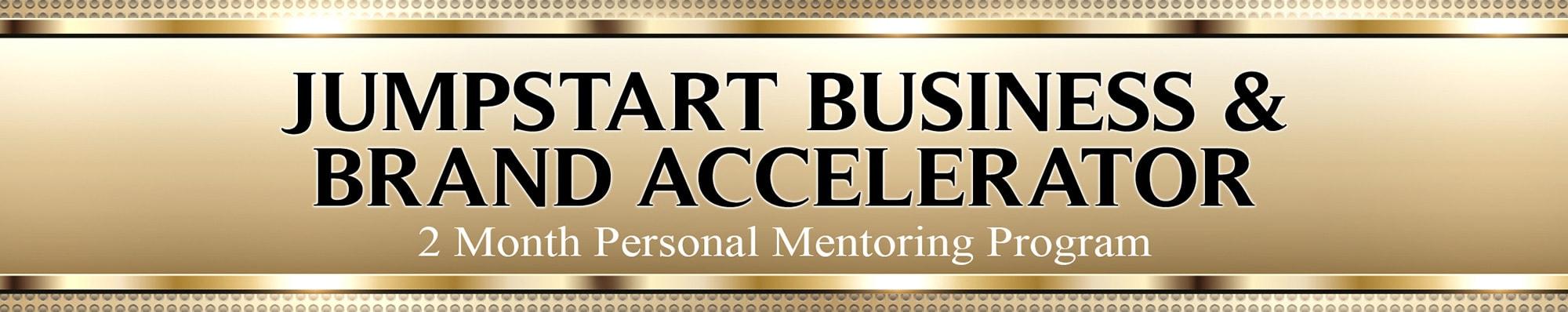 Jumpstart Business Brand Accelerator banner