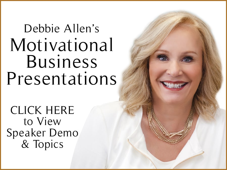 Debbie Allen's Motivational Business Presentations banner